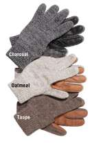 Ragg Wool RanchHands Gloves with Deerskin Palm by Schaefer Ranchwear