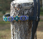 """Sherwood Forest"" Handmade Beadwork Headstall"