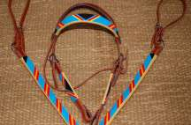 Handmade Beaded Tack Set