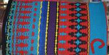 """Tipped C"" Branded Saddle Blanket"