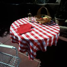 Outdoor Table Linens Set by Tina B. Woolley