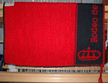 An award blanket for The Rodeo de Santa Fe