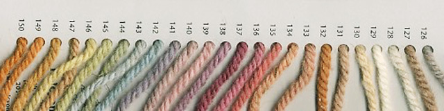 yarn color chart for custom woven saddle blankets